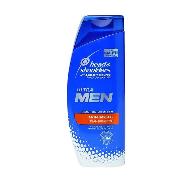 Dầu Gội Sạch Gàu Ngăn Rụng Tóc Cho Nam Head & Shoulders Anti-Dandruff Shampoo Anti-Hairfall (315ml)