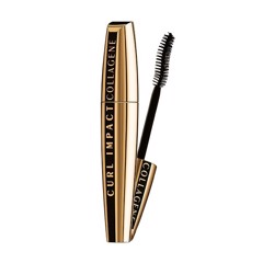 Mascara Làm Cong Và Dày Mi L'Oreal Curl Impact Collagene Curl-Fixing Volume Mascara 11ml