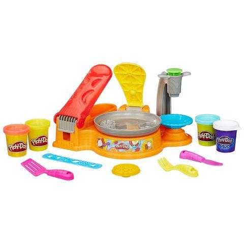 PLAYDOH B3249 BỮA SÁNG VUI VẺ   Play-Doh Breakfast Café Playset