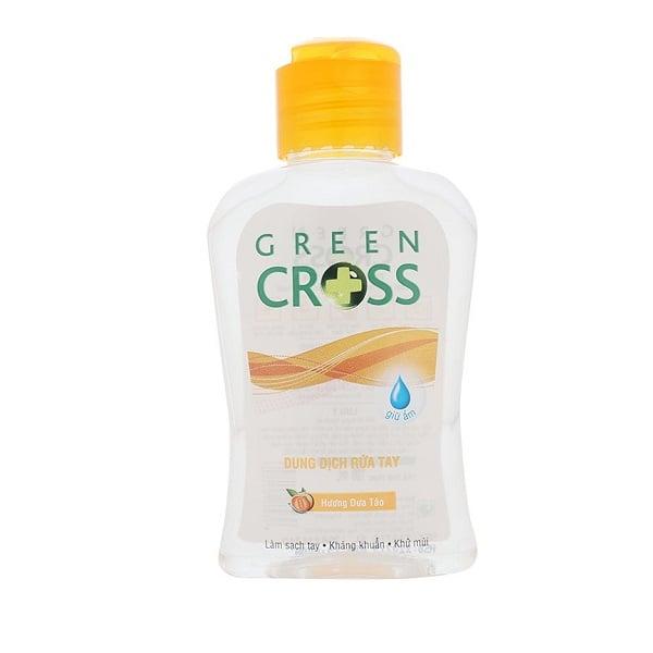 Dung Dịch Rửa Tay Green Cross - Hương Dưa Táo (100ml)