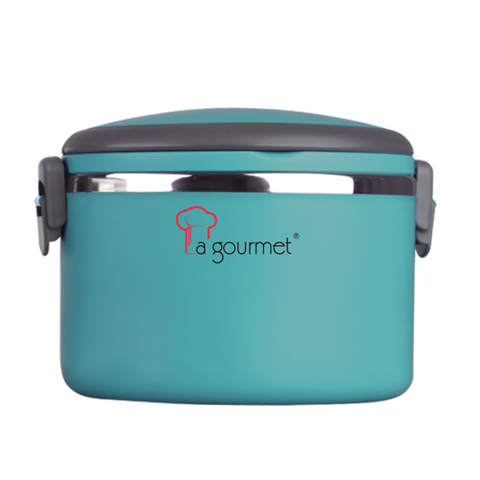 Hộp Cơm 1 Ngăn LaGourmet Pack To Go 1,0L (Xanh ngọc) | Dining Box 1 Drawer-La Gourmet Pack To Go 1,0L (Green)