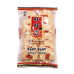 Bánh Gạo Want Want Shelly Senbei - Want Want Rice Crackers Shelly Senbei 150g