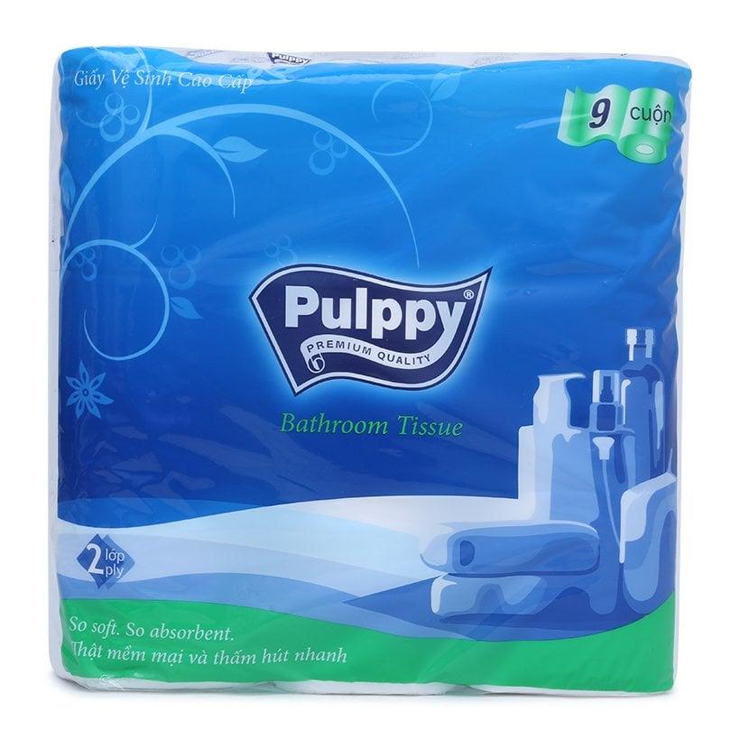 Giấy Vệ Sinh Pulppy 9 Cuộn
