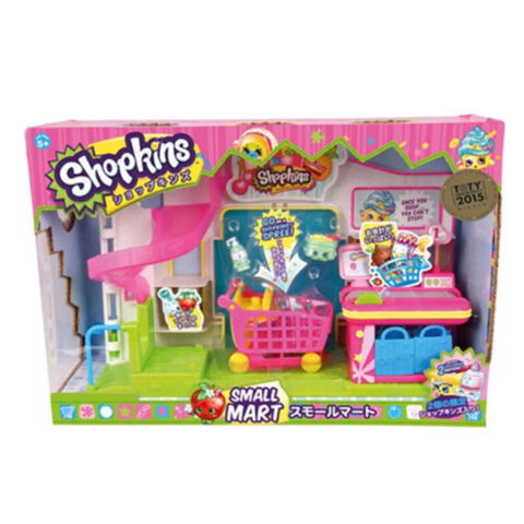 SHO56008 SHOPKINS BỘ SMALL MART SEASON 1