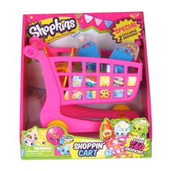 Sho56017 Shopkins Bộ Shoppin' Cart Season 1