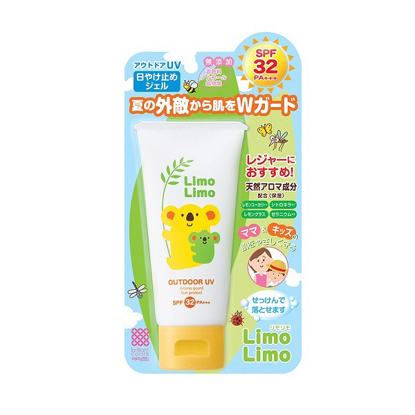 Kem Chống Nắng Meishoku Limo Limo Dành Cho Mẹ & Bé SPF32PA+++ 50g