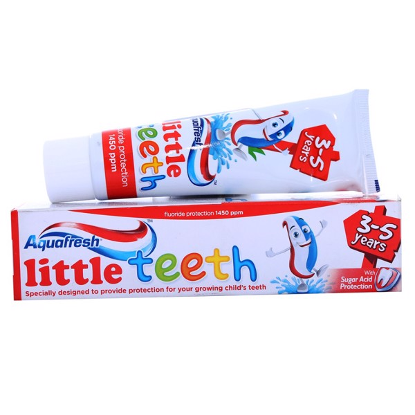Kem Đánh Răng Aquafresh Cho Trẻ Em 3-5 Tuổi (50ml)