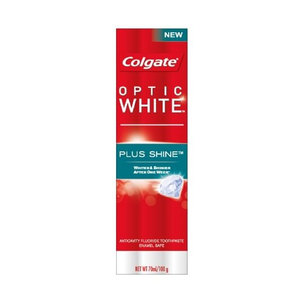 Kem Đánh Răng Colgate Optic White Plus Shine 100g - 10117343 , 05316618 , 261_1020412211 , 44900 , Kem-Danh-Rang-Colgate-Optic-White-Plus-Shine-100g-261_1020412211 , aeoneshop.com , Kem Đánh Răng Colgate Optic White Plus Shine 100g