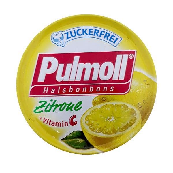 Kẹo Ngậm Ho Không Đường Pulmoll Zitrone Vị Chanh (50g)