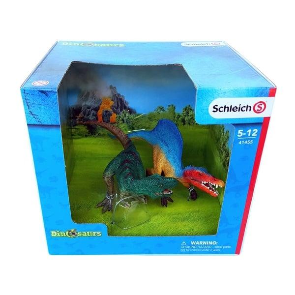 Khủng Long Spinosaurus & T-Rex Schleich 41455