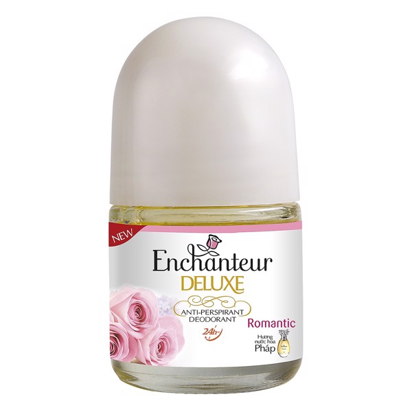 Lăn Khử Mùi Hương Nước Hoa Enchanteur Romantic (20ml)