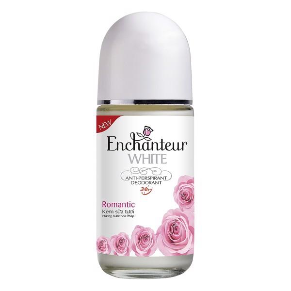 Lăn Khử Mùi Hương Nước Hoa Enchanteur Romantic (50ml)