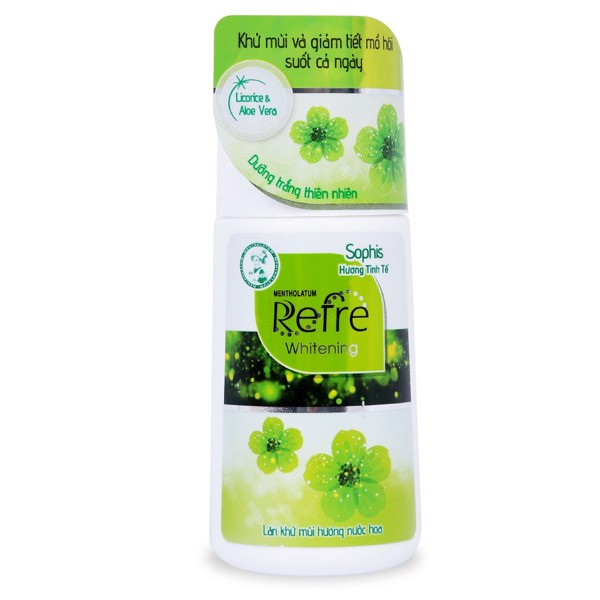 Lăn Khử Mùi Refre 40ml - Hương Nước Hoa (Sophis)