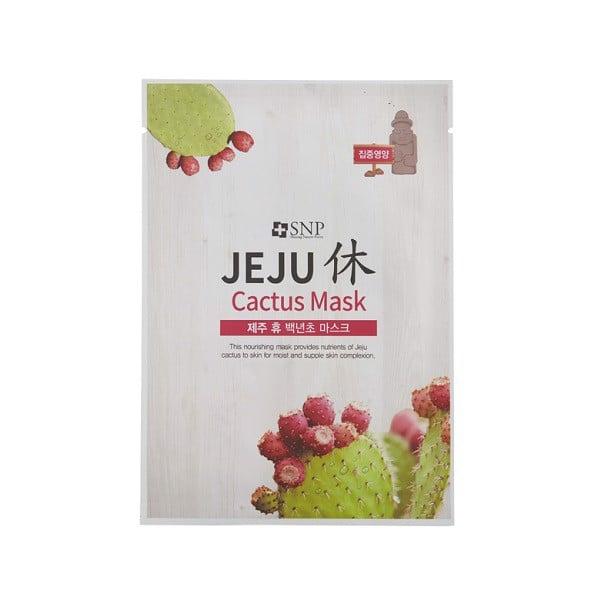 Mặt Nạ SNP Dưỡng Tinh Chất Xương Rồng Jeju Cactus 22ml (Store 5871,5873)