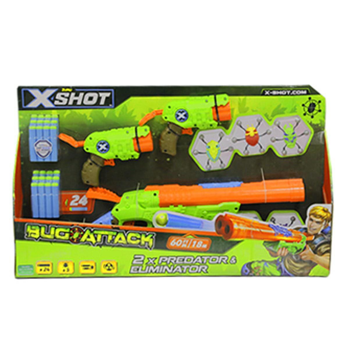 Mô Hình Sưu Tầm Chiến Binh Diệt Bọ X - Shot - 5 Bọ & 24 Phi Tiêu