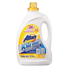 Nước Giặt Attack Khử Mùi Extra Matic 2.3Kg