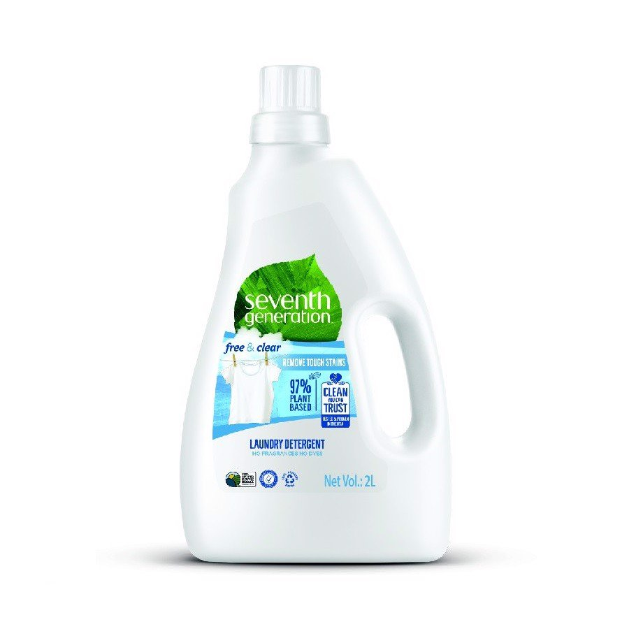Nước Giặt Seventh Generation Free&Clear Chai 2L