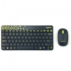(M&KB) LOGITECH MK240 WIRELESS/OPTICAL/ĐEN – LỤC NHẠT (BLACK-CHARTREUSE)