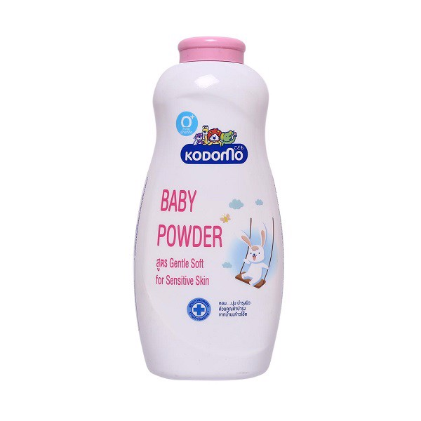 Phấn Dưỡng Ẩm Kodomo Baby Powder Gentle Soft For Sensitive Skin 180g