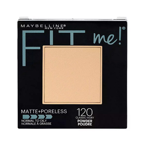 Phấn Nền Mịn Lì Maybelline Fit Me Matte Poreless 120 Classic Ivory 9g