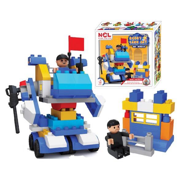 Lắp Ráp Robot Cảnh Sát Vinatoy ĐCXHST 349