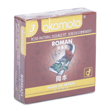 Bao cao su Okamoto Roman 3