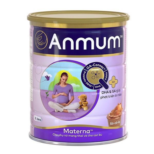 Sản Phẩm Dinh Dưỡng Dành Cho Mẹ Bầu Anmum Materna Vị Chocolate 400g