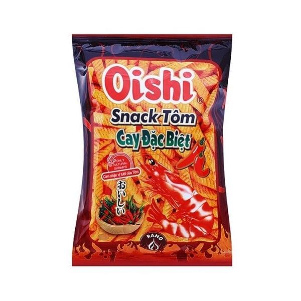 Snack Oishi Tôm Cay Đặc Biệt 42g