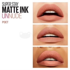Son Kem Lì Maybelline Super Stay Matte Ink 5ml #60 Poet