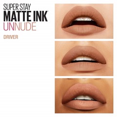 Son Kem Lì Maybelline Super Stay Matte Ink 5ml #55 Driver