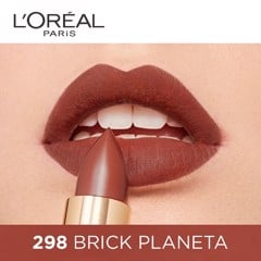 Son L'Oreal Color Riche Matte #298 Brick Planet 3.7g (Store 5871,5873)