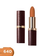 Son Lì Mịn Môi L'Oreal Luxe Leather #640 Falling For Carame 3.7g (Store 5871,5873)