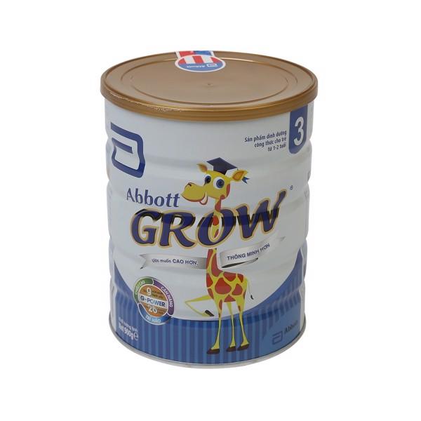 Sữa Bột Abbott Grow 3 Cho Trẻ Từ 1-2 Tuổi 900g