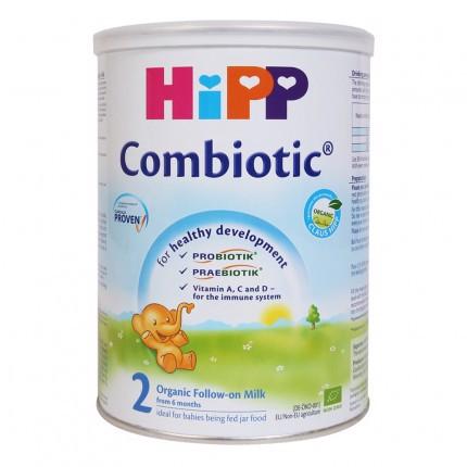 Sữa Bột Hipp Số 02 Combiotic Cho Trẻ Từ 6 Tháng 800g