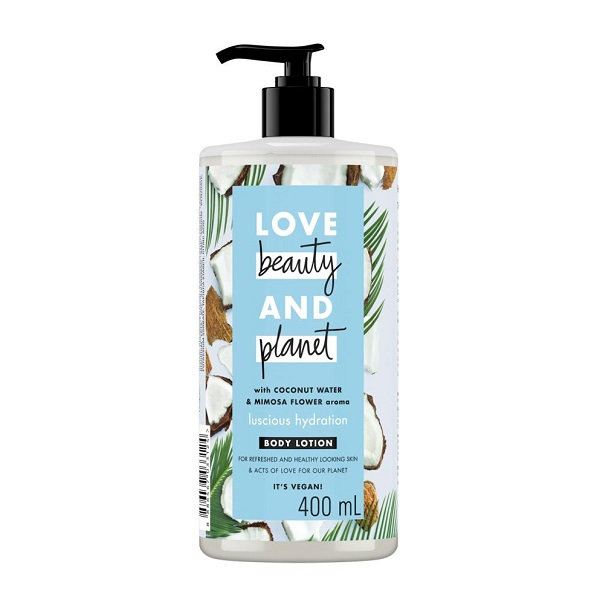 Sữa Dưỡng Thể Cấp Ẩm Love Beauty And Planet Luscious Hydration 400ml