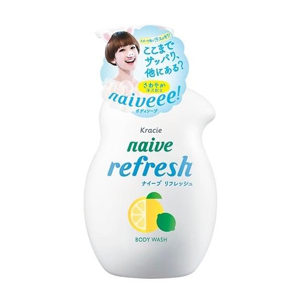 Sữa Tắm Hương Chanh Naive 530ml