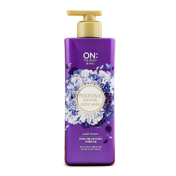 Sữa Tắm On: The Body Perfume Violet Dream 1kg