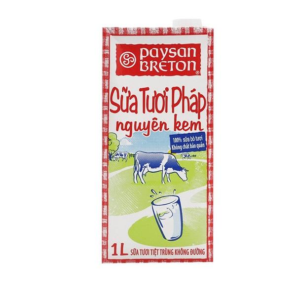 Sữa Tươi Béo Paysan Breton 1L
