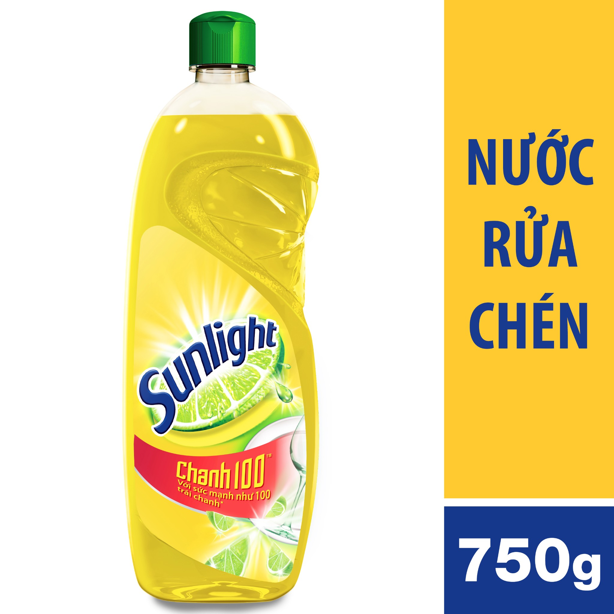 NƯỚC RỬA CHÉN SUNLIGHT CHANH 750G | Sunlight Dishwashing Liquid Bottle 750g