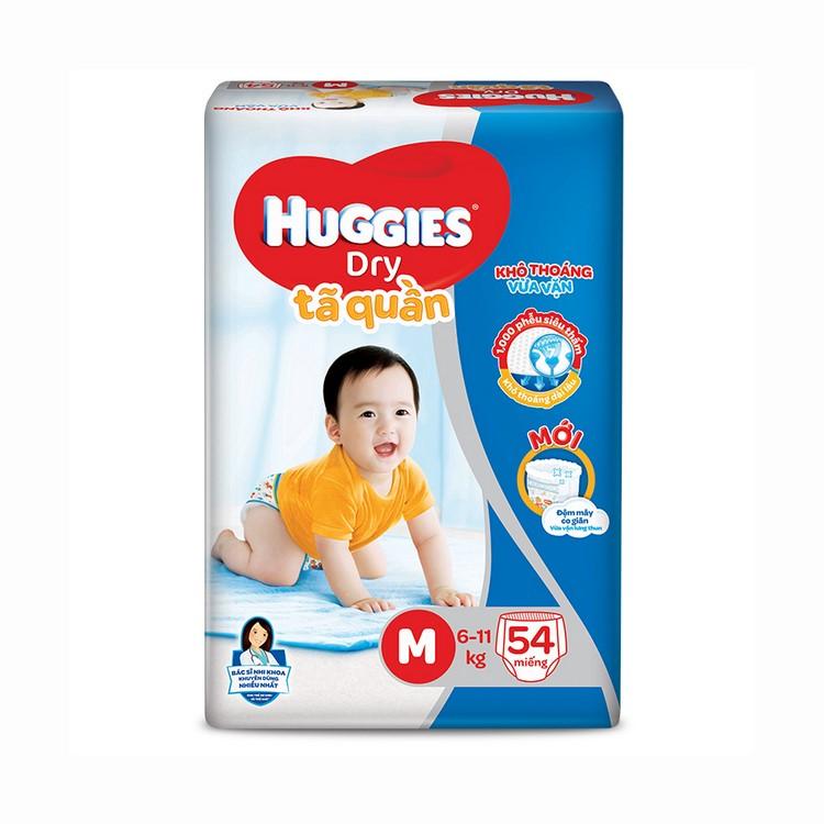 Tã Quần Huggies Dry M54 - Gói 54 Miếng - 04916598,261_1017173957,282000,aeoneshop.com,Ta-Quan-Huggies-Dry-M54-Goi-54-Mieng-261_1017173957,Tã Quần Huggies Dry M54 - Gói 54 Miếng