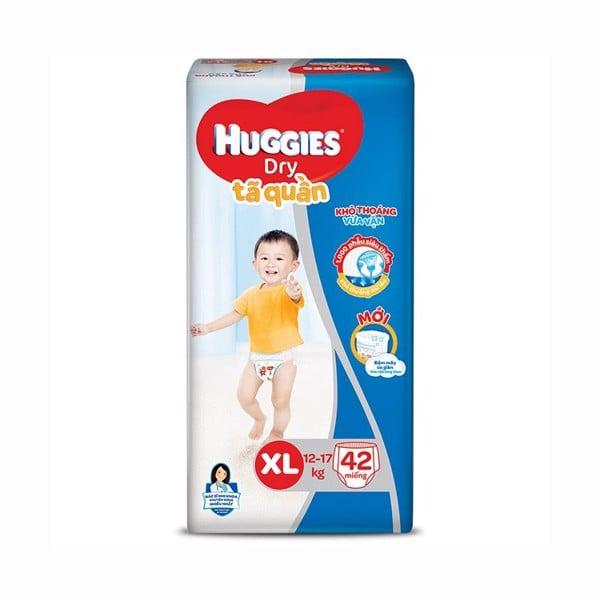 Tã Quần Huggies Dry XL42 - Gói 42 Miếng