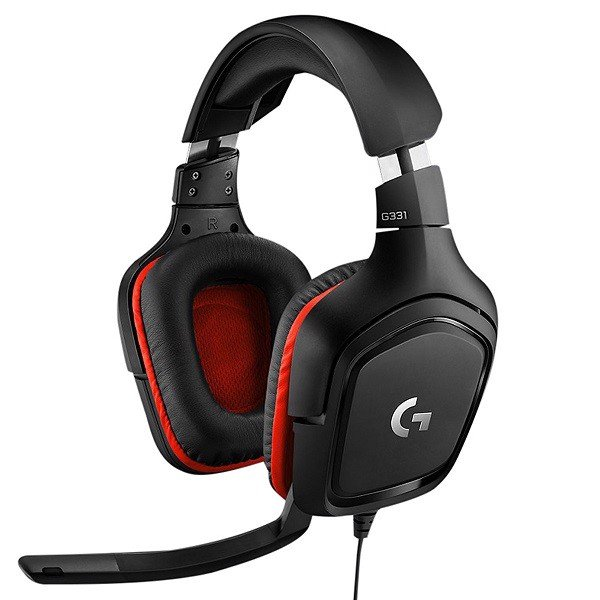 Tai Nghe Gaming Logitech G331 Wired Đen