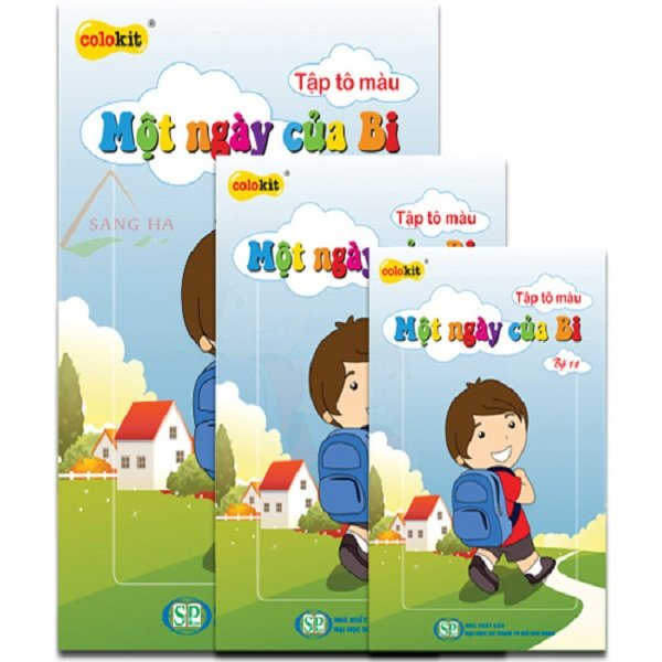 TẬP TÔ MÀU CB-011 | Thien Long CB-011 / DO Coloring Book