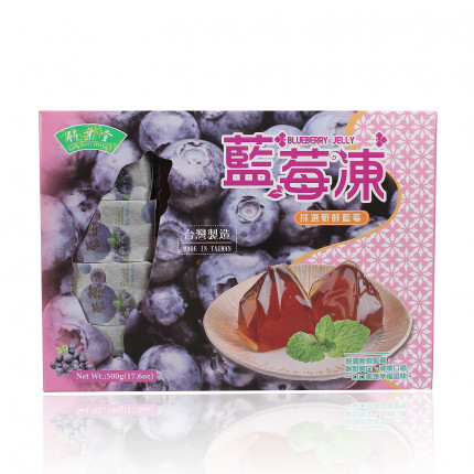 Thạch Jelly Việt Quất Bamboo House 500G