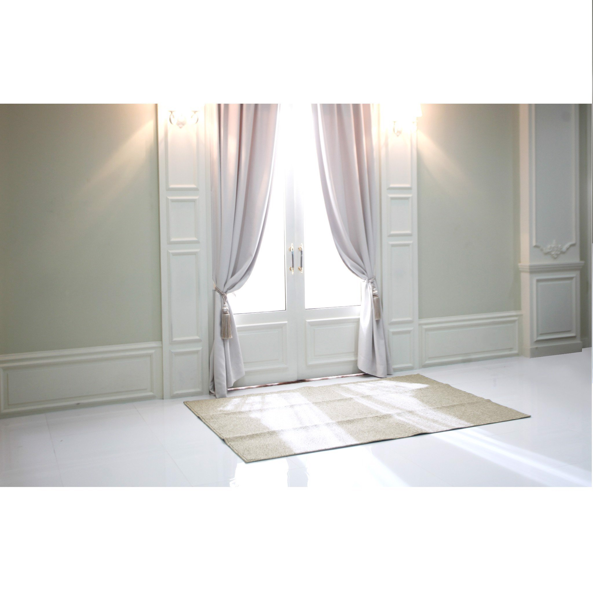 Thảm Carmi Point Border Ivory/Beige/Moca 160 x 230cm