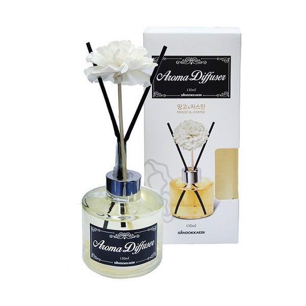 Tinh Dầu Thơm Phòng Aroma Diffuser Sandokkaebi (130ml) - Hương Mango & Jasmine