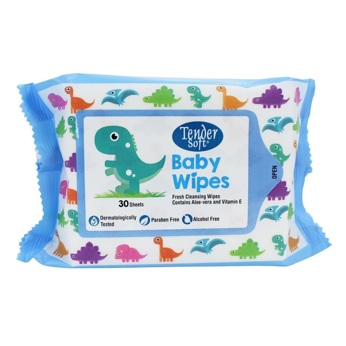 Khăn Ướt Tendersoft Baby Wipes 80 Tờ (Xanh) - 03413876,261_1006565571,37900,aeoneshop.com,Khan-Uot-Tendersoft-Baby-Wipes-80-To-Xanh-261_1006565571,Khăn Ướt Tendersoft Baby Wipes 80 Tờ (Xanh)