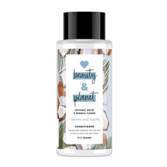 Dầu Xả Giúp Tóc Bồng Bềnh Love Beauty & Planet Volume And Bounty 400ml