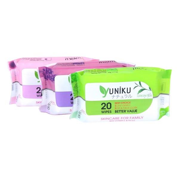Khăn Ướt Yuniku - 20 Tờ