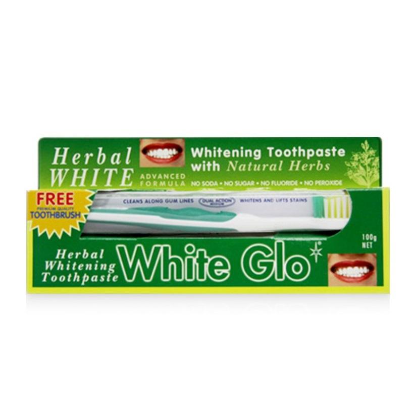 Kem Đánh Răng Thảo Mộc White Glo - 150g